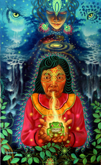 Out of the Shrink's Office and into Grandma's House – Report of an Ayahuasca Ceremony